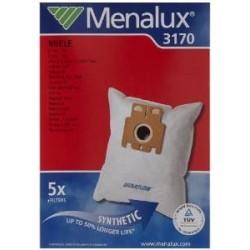 Menalux 3170 Sacchetti per aspirapolvere, confezione da 5
