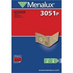 menalux sacchetti per aspirapolvere 3051p