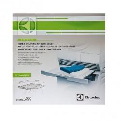 Electrolux Essential Staking Kit con tavoletta estraibile ,kit adatto a lavatrici e dryer con profondità