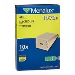 MENALUX 9001967281 Sacchetti di Carta Compatibili 1072P per Aspirapolvere AEG, Electrolux e Tornado